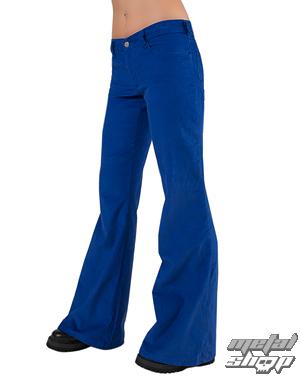 nohavice dámske Black Pistol - Loon Hipster Cord Light Blue - B-1-06-200-02