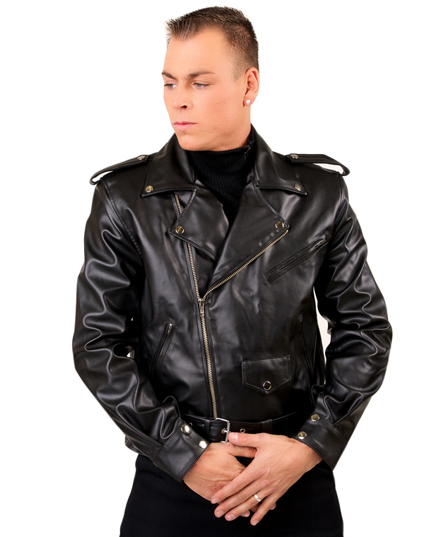 bunda pánska Black Pistol - Biker Men Jacket Sky Black - B-6-81-113-00