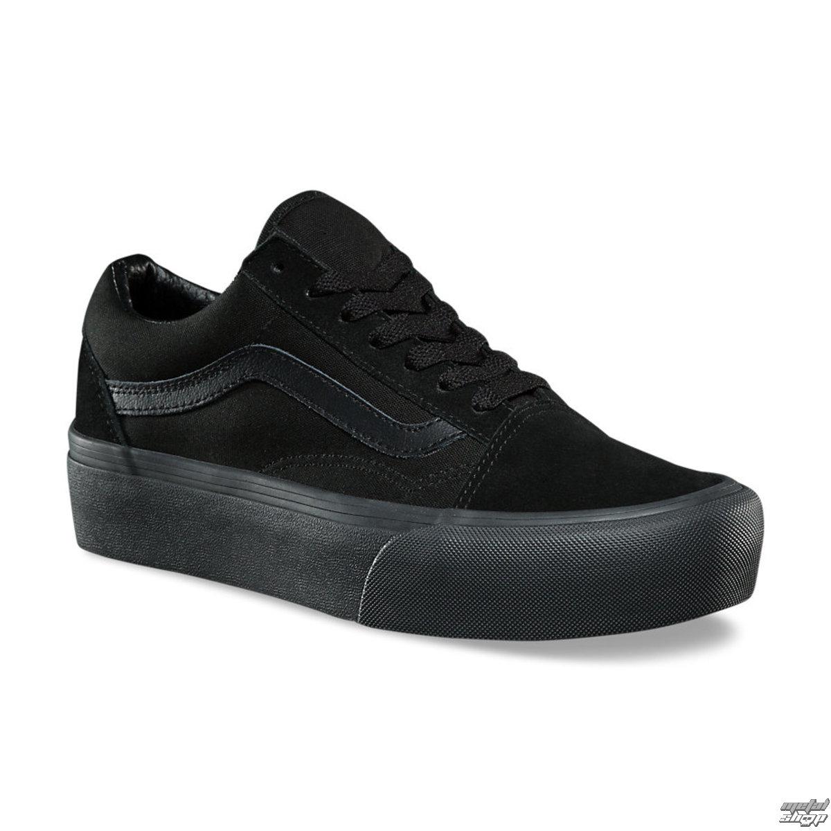 b0110c06df7 topánky dámske VANS - UA OLD Skool PLATFORM Black   Black - VA3B3UBKA