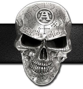 pracka Omega Skull ALCHEMY GOTHIC - B69