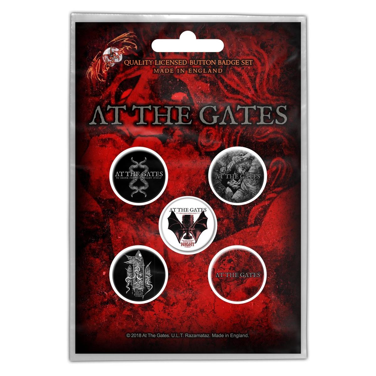 odznaky At The Gates - To Drink From The Night Itself - RAZAMATAZ - BB048