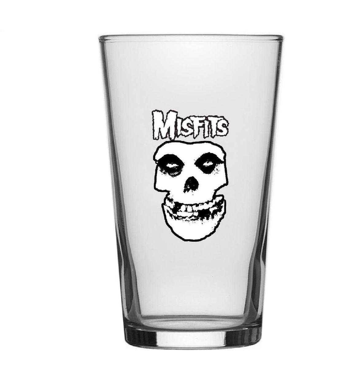 poháre Misfits - Skull - RAZAMATAZ - BG049
