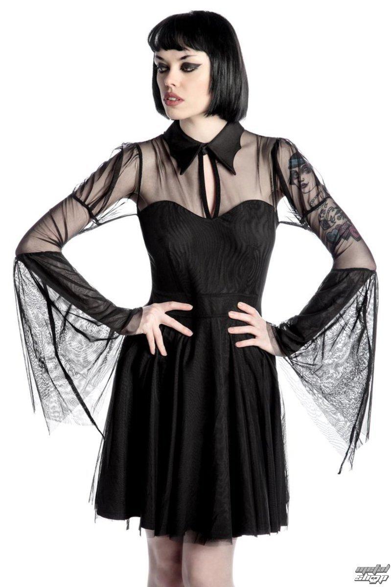 šaty dámske KILLSTAR - Bound By Blood - Black - K-DRS-F-2344