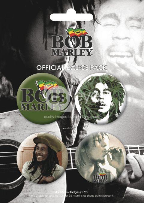 odznaky - BOB MARLEY - BP0056 - GB posters