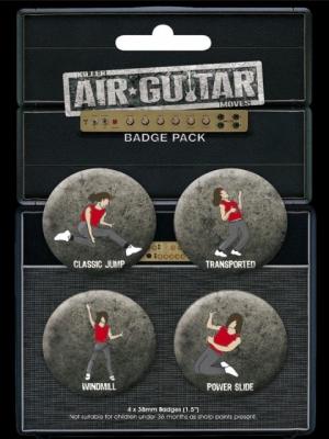 odznaky AIR GUITAR - BP0088 - GB posters