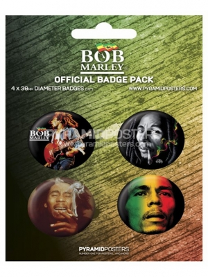 odznaky - Bob Marley - BP80098 - Pyramid Posters