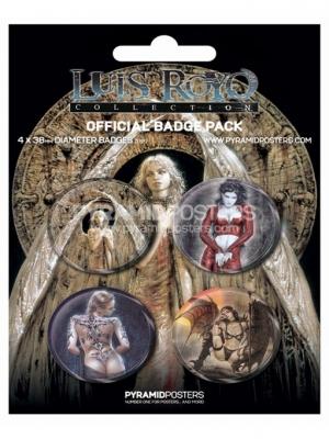 odznaky - Luis Royo - BP80132 - Pyramid Posters