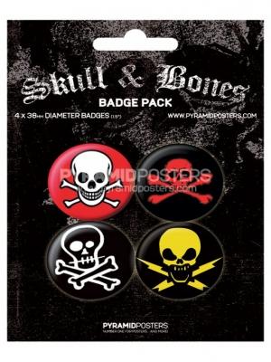 odznaky - Skull & Bones - BP80155 - Pyramid Posters