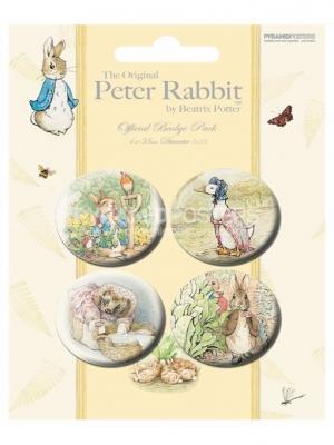 odznaky - Beatrix Potter - BP80167 - Pyramid Posters