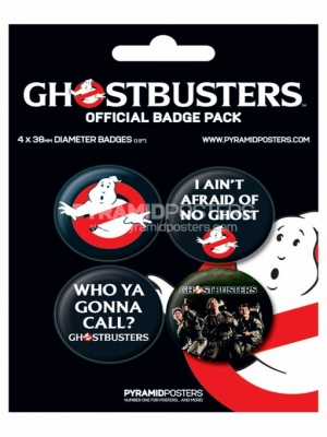 odznaky - Ghostbusters - BP80187 - Pyramid Posters