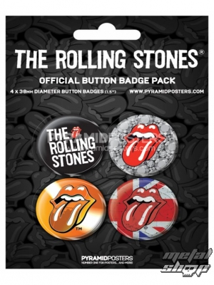 odznaky - The Rolling Stones (2) - BP80232 - Pyramid Posters