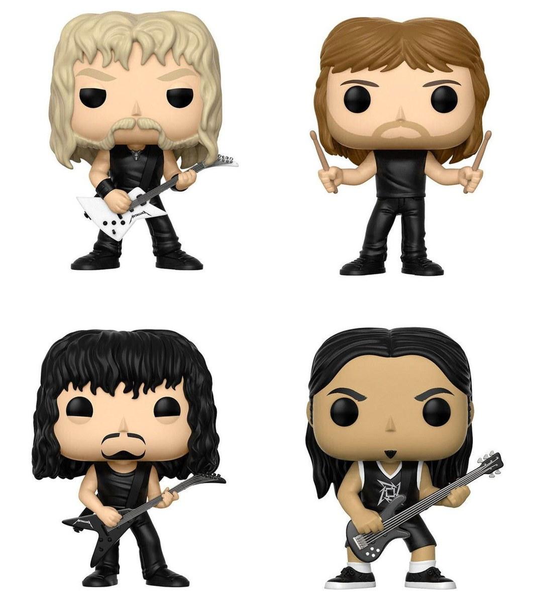figúrky (set) Metallica - Band - POP!