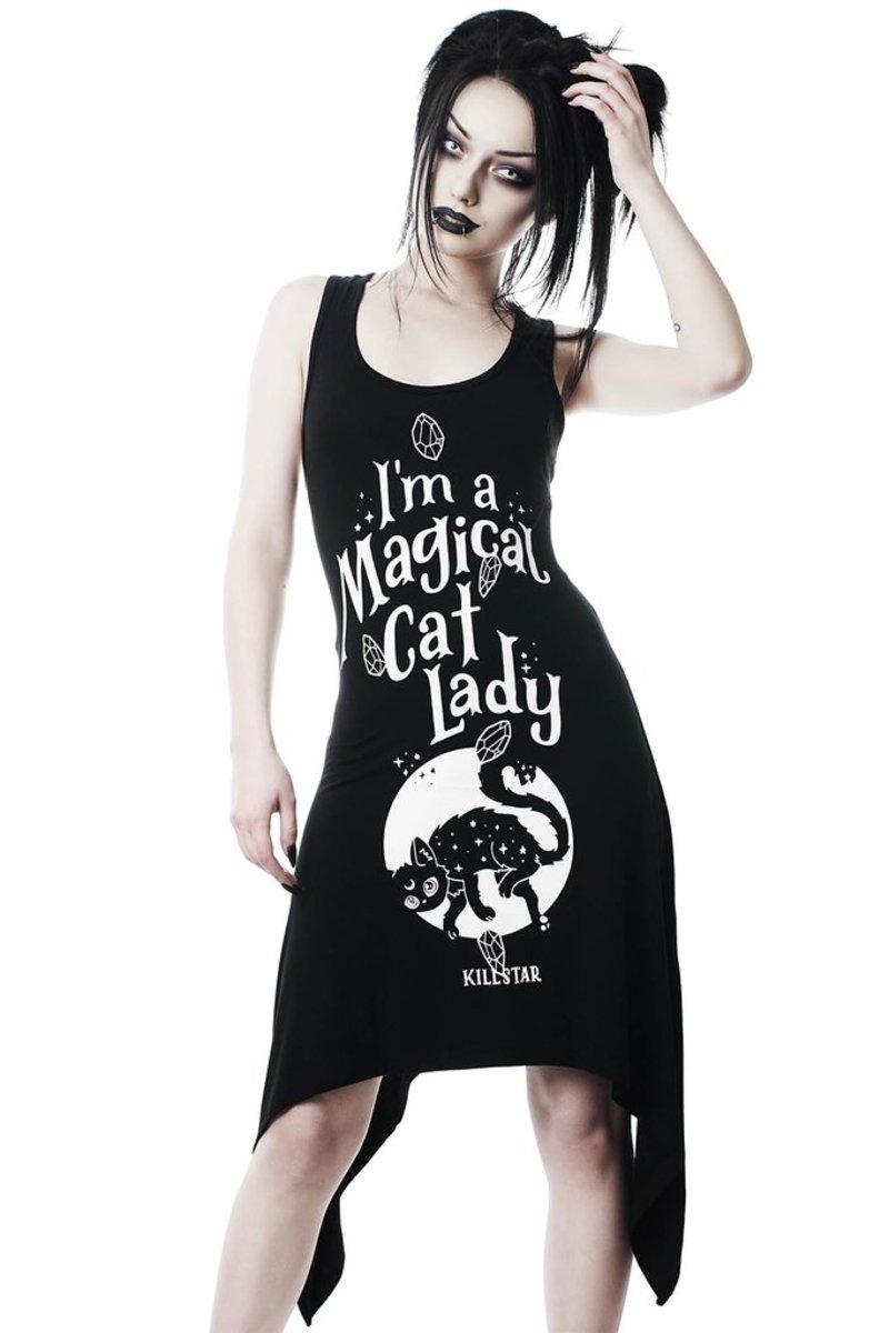 šaty dámske KILLSTAR - Cat Lady - KSRA000994