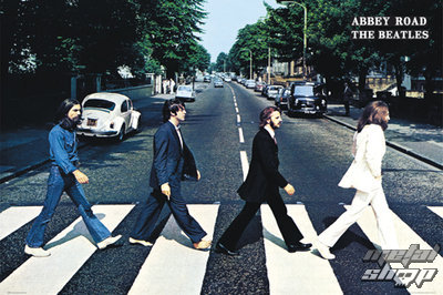 plagát The Beatles - Abbey Road - GB Posters - FL0342