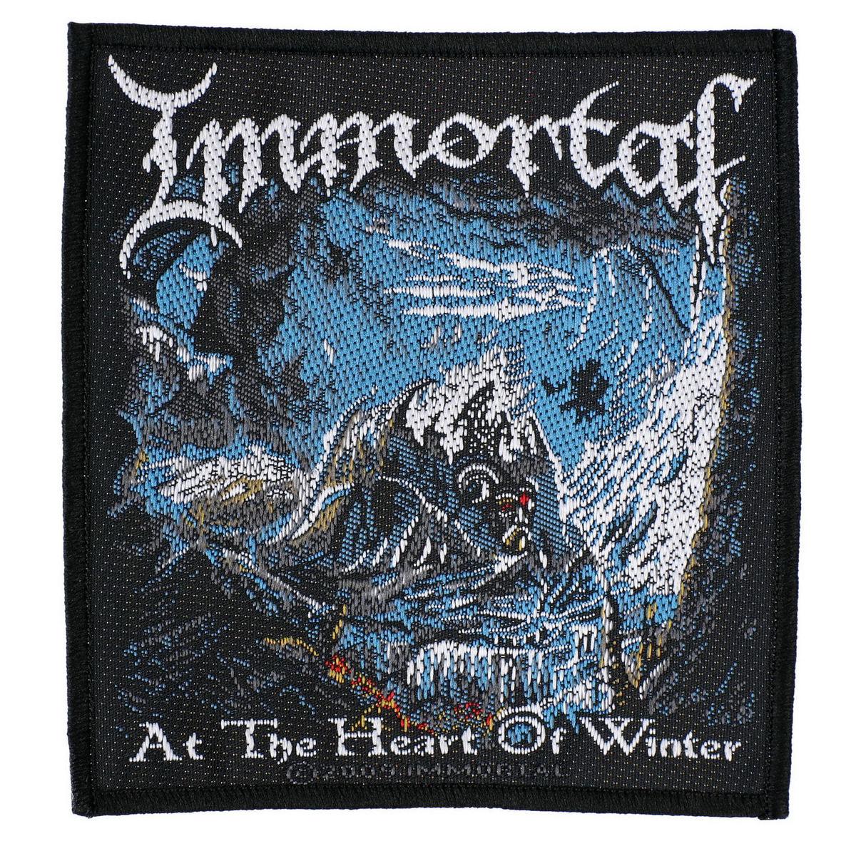 nášivka IMMORTAL - AT THE HEART OF WINTER - RAZAMATAZ - SP2368