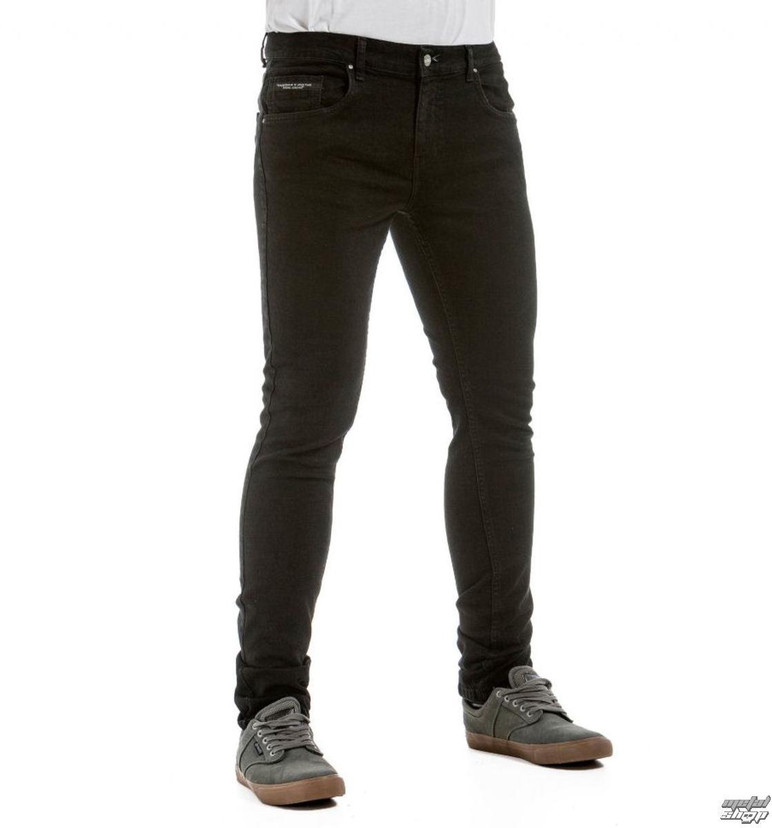 nohavice pánske (jeans) NUGGET - Garage 2 - 1/7/38, C - Black - NG170301072893