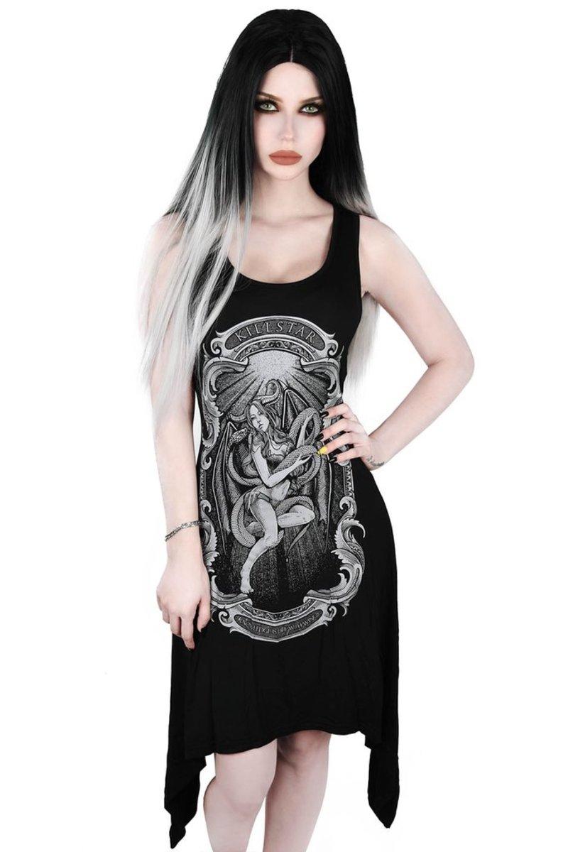 šaty dámske (tunika) KILLSTAR - Goddess - KSRA001343