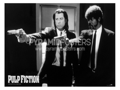 plagát - Pulp Fiction (B&W Guns) - GPP51003 - Pyramid Posters