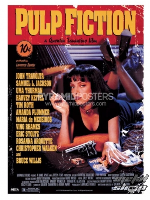 plagát Pulp Fiction (Cover) - GPP51004 - Pyramid Posters