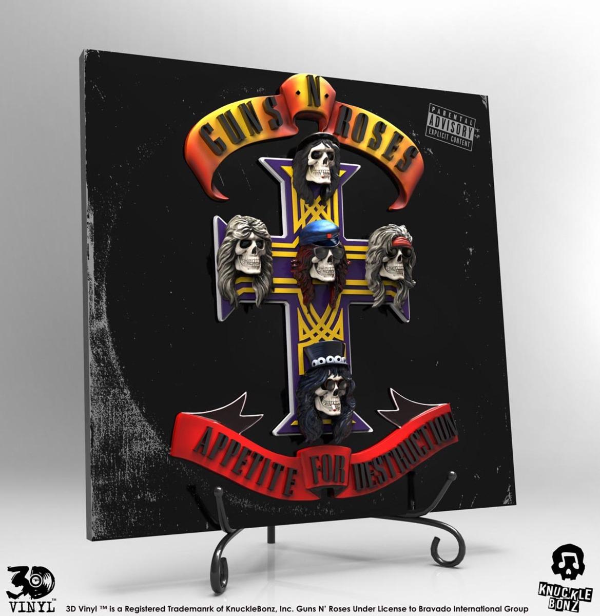 af9a9782a dekorácia Guns N' Roses - Appetite for Destruction - KB3DVGNR100