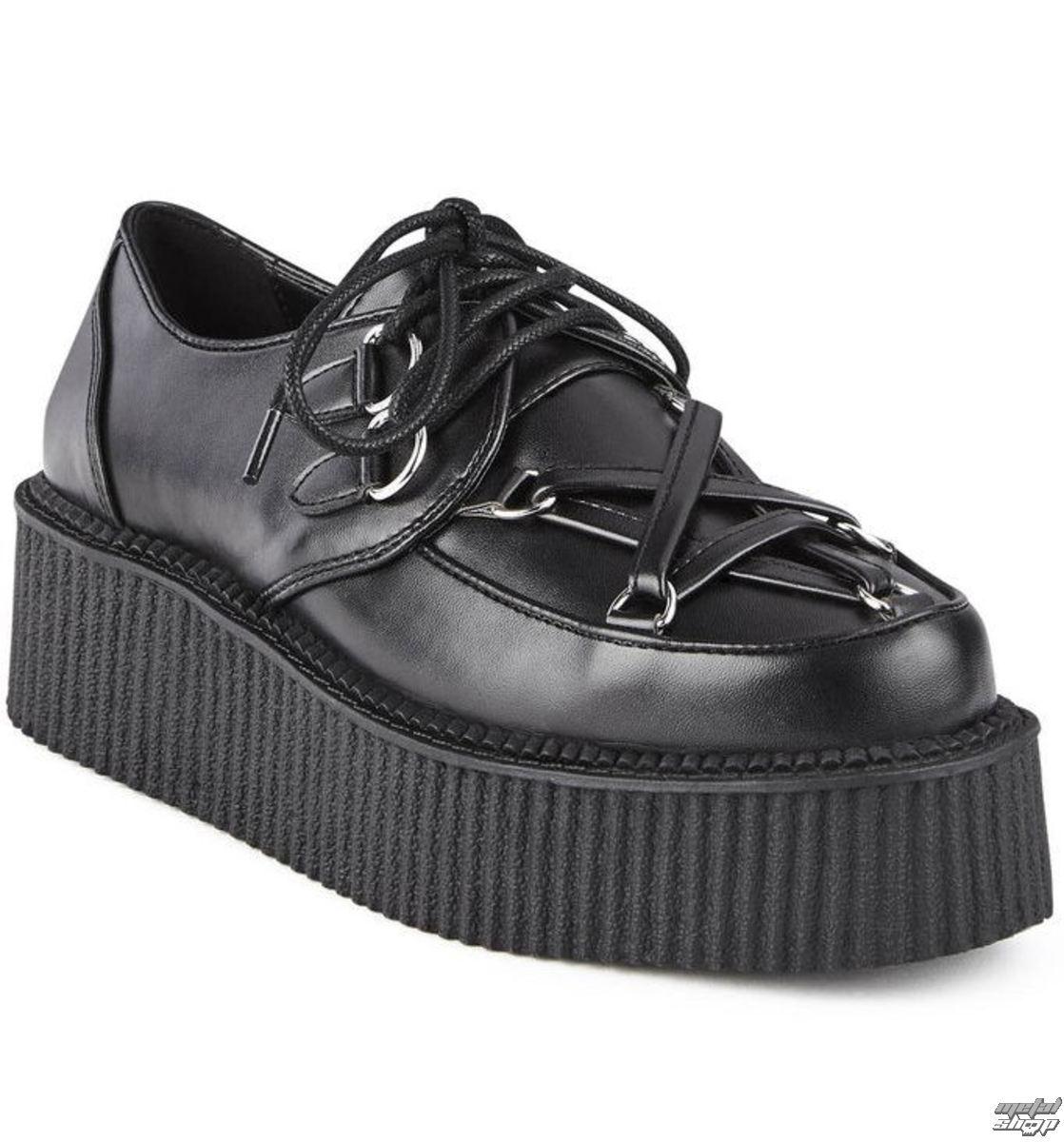 be9c3a5998 topánky dámske KILLSTAR - HEXELLENT CREEPERS - BLACK - K-FTW-F-2883 ...