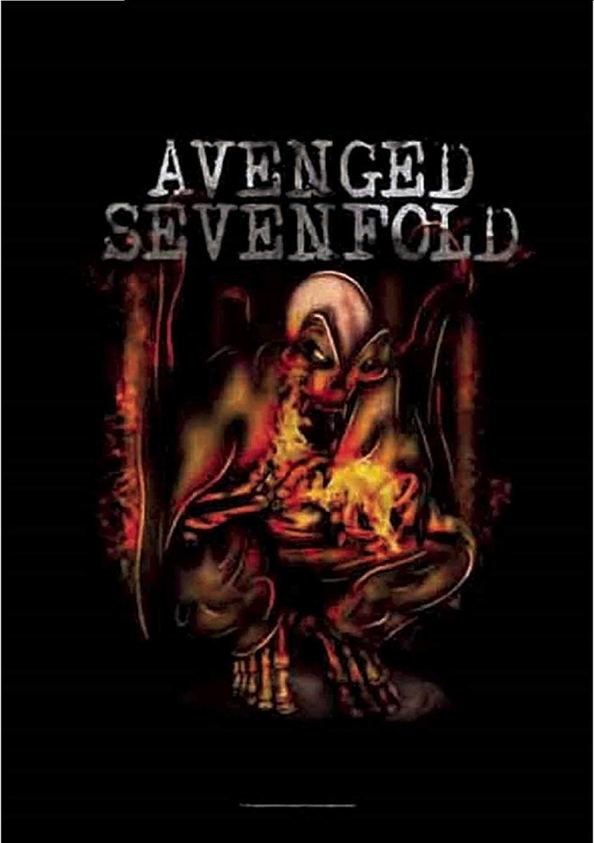 vlajka Avenged Sevenfold - Fire Bat - HFL1079