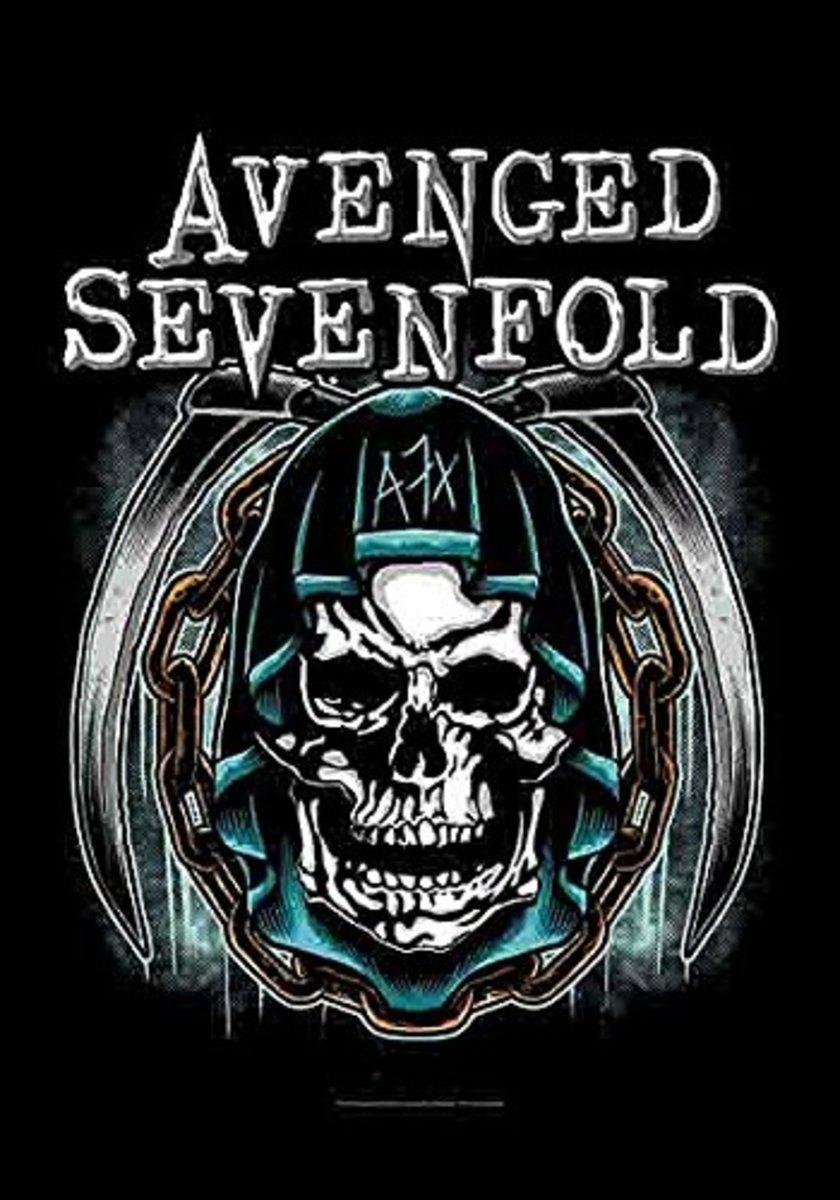 vlajka Avenged Sevenfold - Holy Reaper - HFL1191