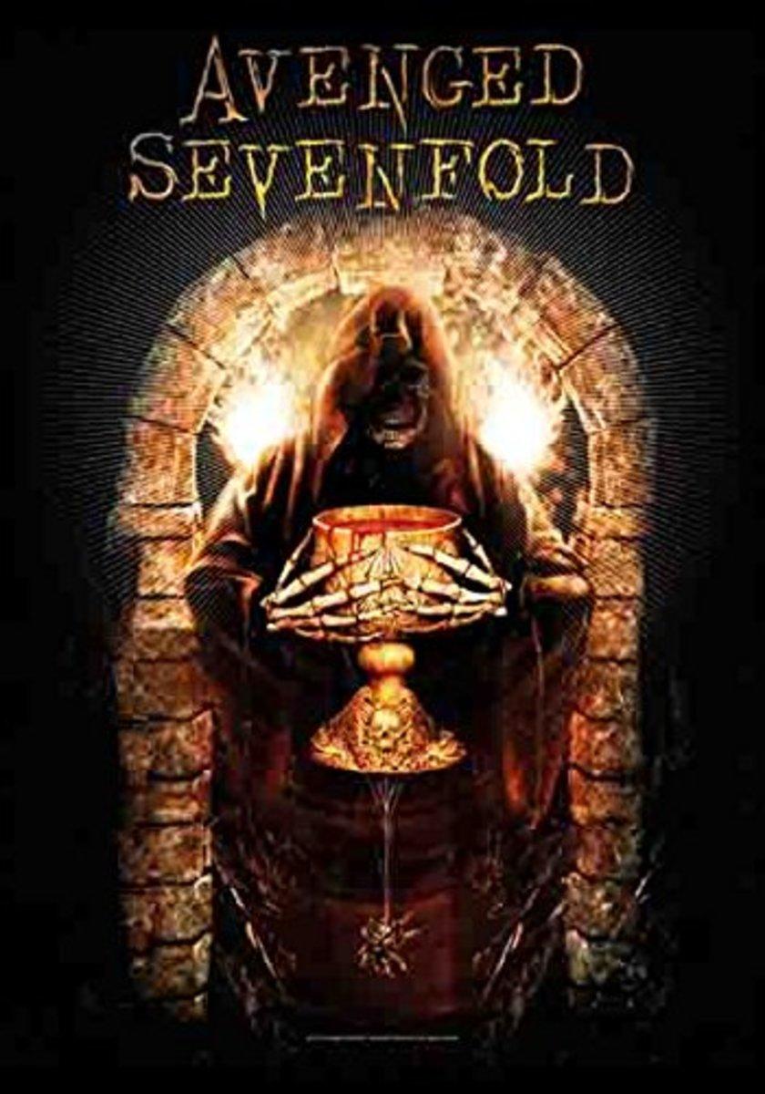 vlajka Avenged Sevenfold - Golden Arch - HFL1194