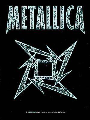 vlajka Metallica - Ninja Logo - HFL131