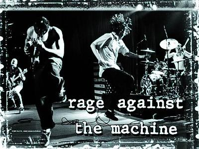 vlajka Rage Against The Machine - Stage - HFL0411