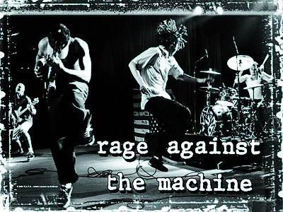 vlajka Rage Against The Machine - Stage - HFL0411