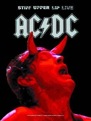 vlajka AC/DC - Tuhý Upper Lip Live - HFL428