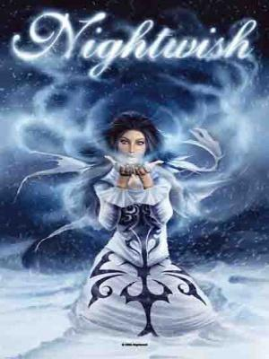 vlajka Nightwish - Frozen - HFL679