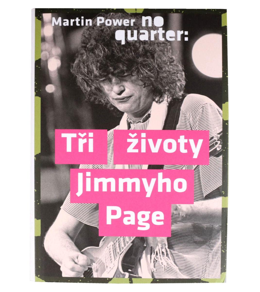 kniha No Quarter - Tři životy Jimmyho Page - Power Martin - KOS012