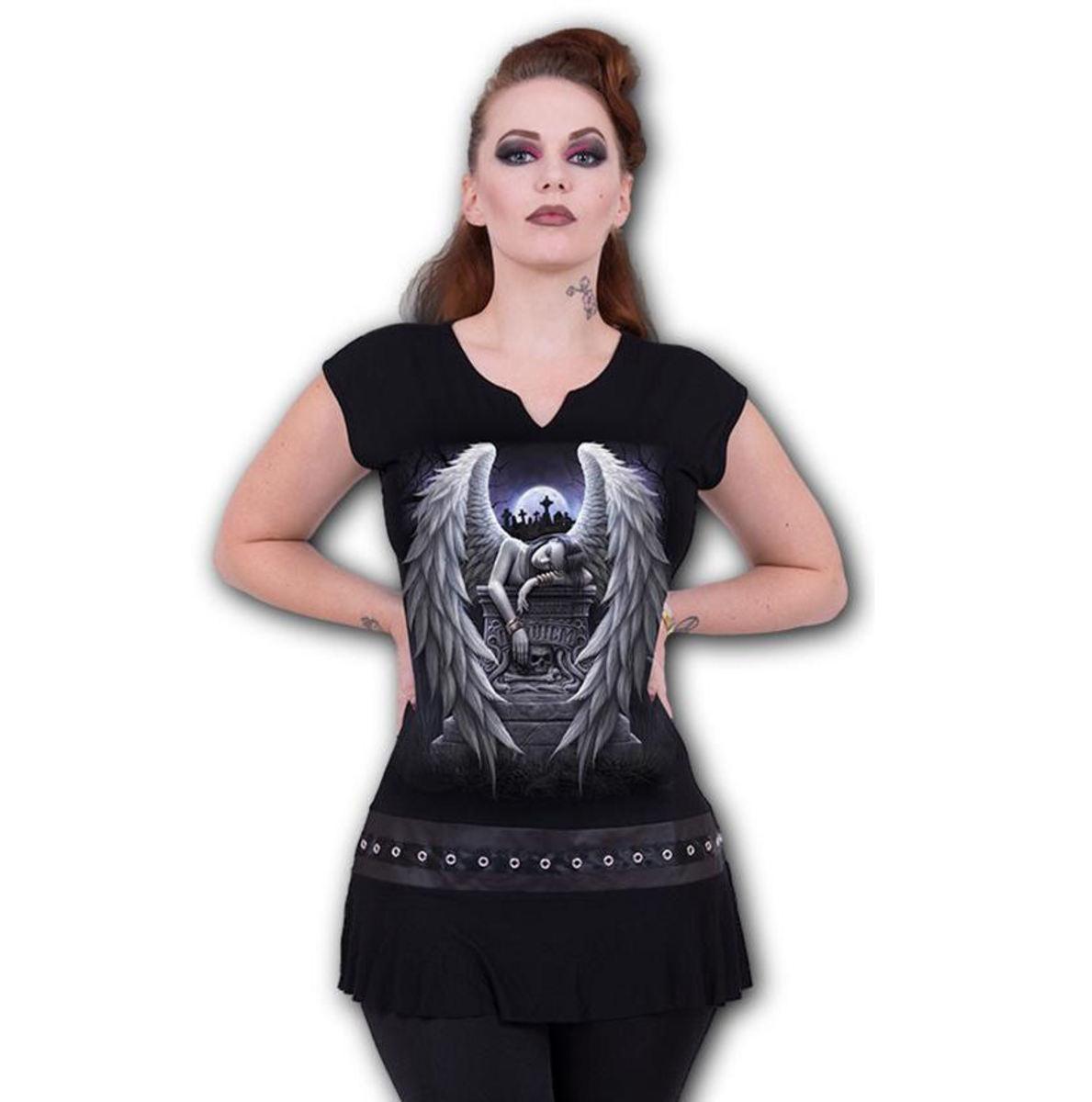 šaty dámske SPIRAL - INNER SORROW - Black - L048F108