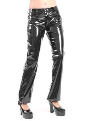 nohavice dámske Love Hipster PVC Black - L-1-04-010-00