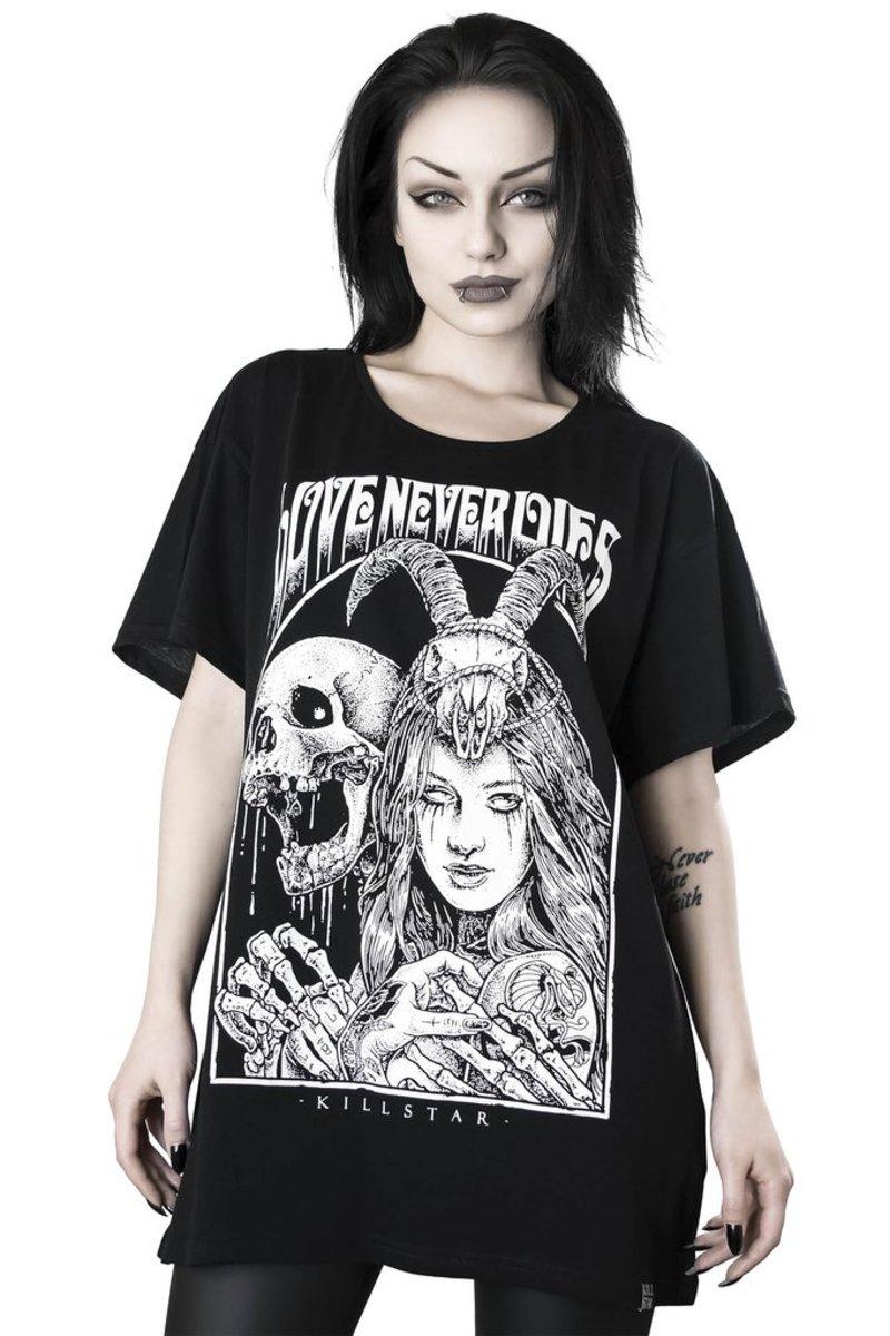tričko dámske KILLSTAR - Love Never Dies Relaxed - KSRA000806
