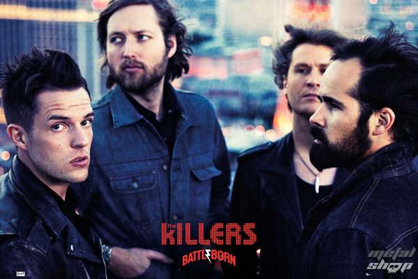 plagát The Killers - Battle Born - GB Posters - LP1587