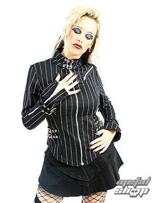 kabátik dámsky Mode Wichtig - Buckle Blouse Pin Stripe -M-4-69-050-01