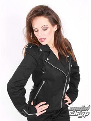 kabátik dámsky Mode Wichtig - Biker Jacket Denim - M-6-06-001-00