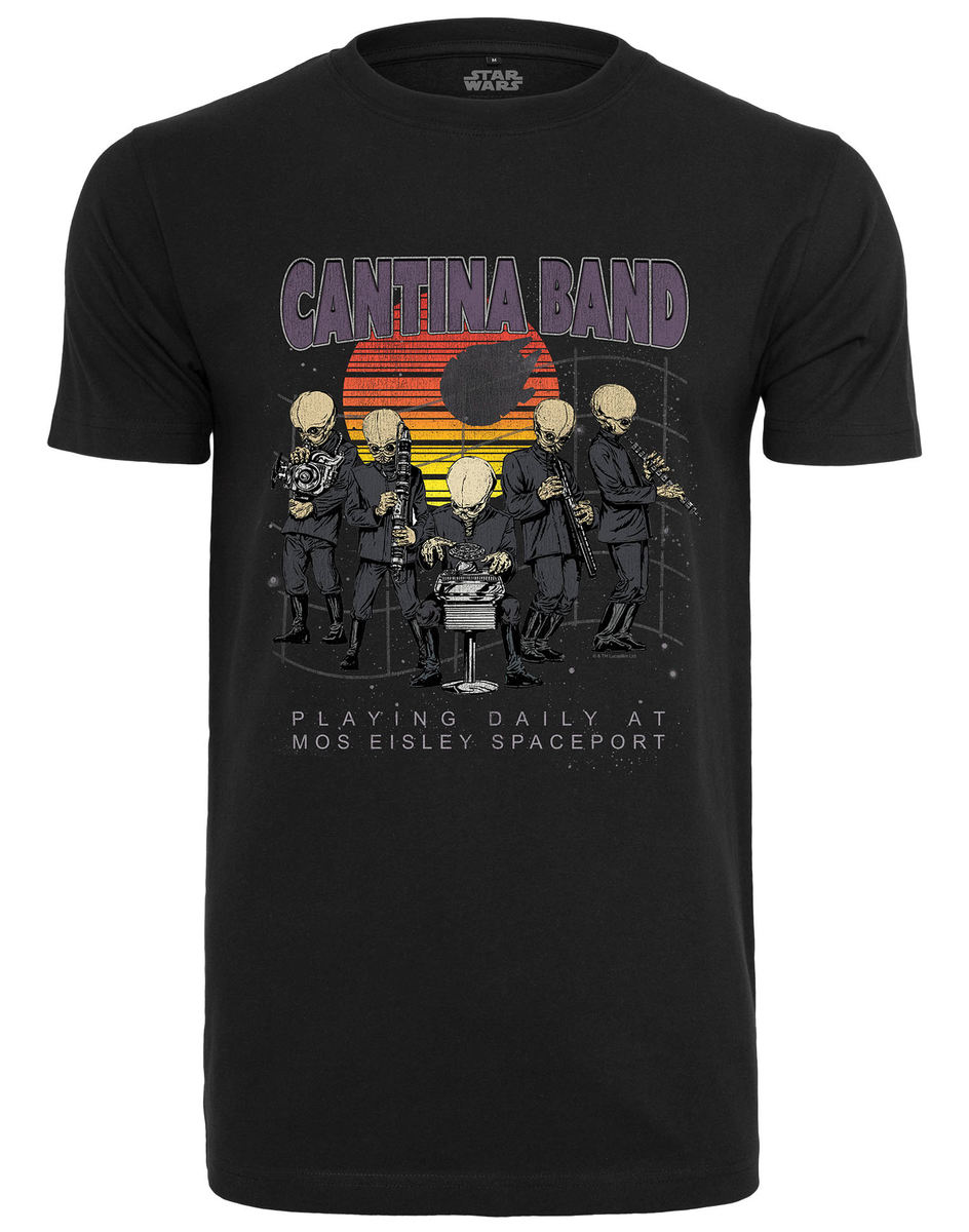 tričko pánske Star Wars - Cantina Band - black - MC412