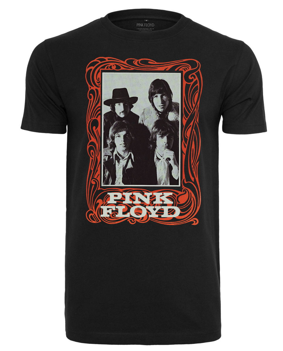tričko dámske Pink Floyd - Logo - black - MC479