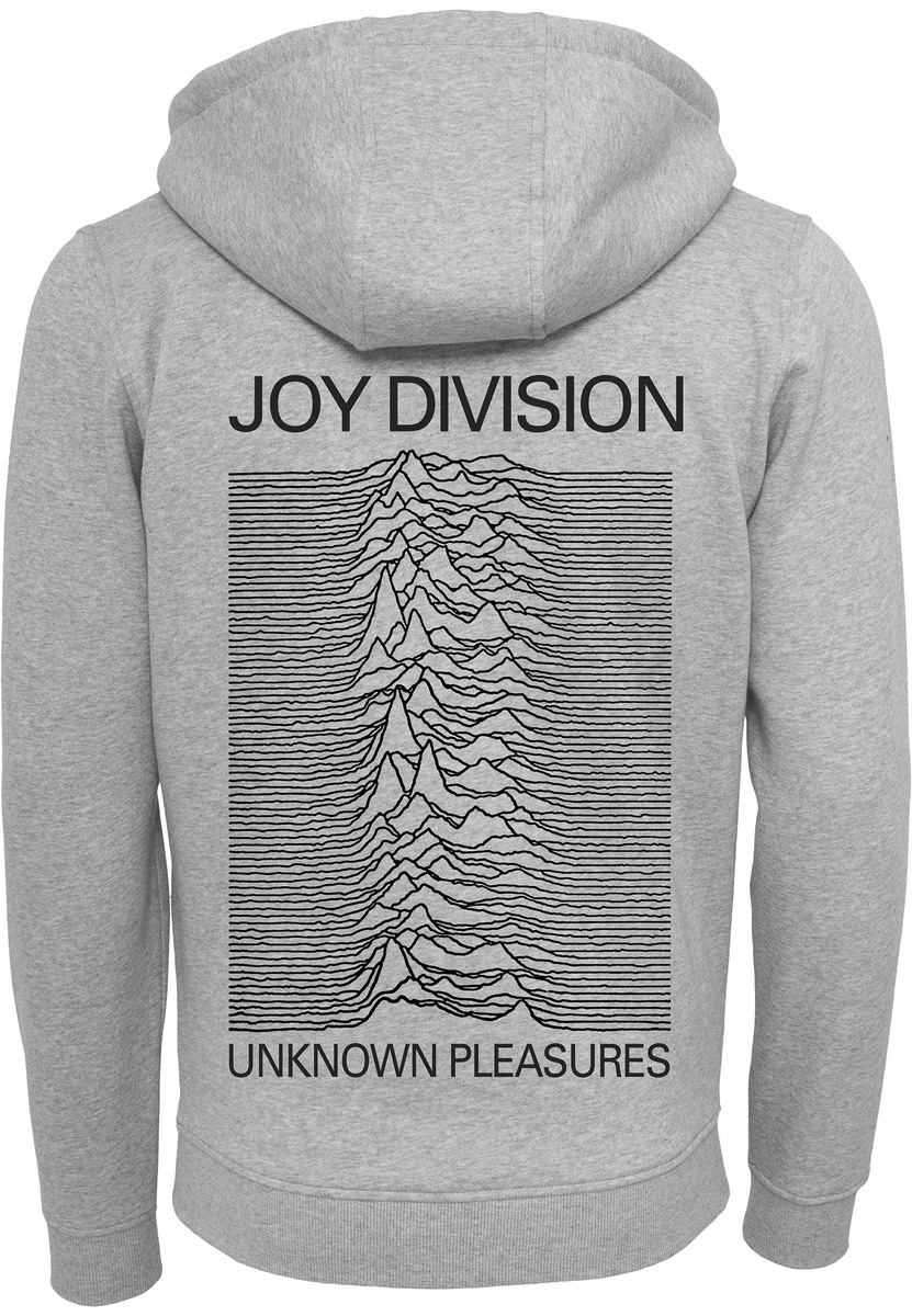 mikina pánska Joy Division - heather grey - MC495