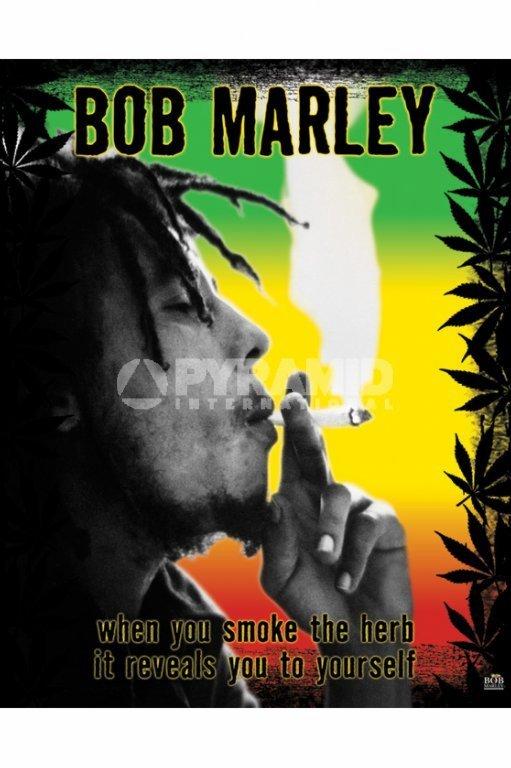 plagát Bob Marley (Herb) - MPP50071 - PYRAMID POSTERS
