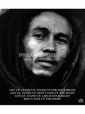 Plagát - Bob Marley (Get Up, Stand Up) - MPP50072 - Pyramid Posters