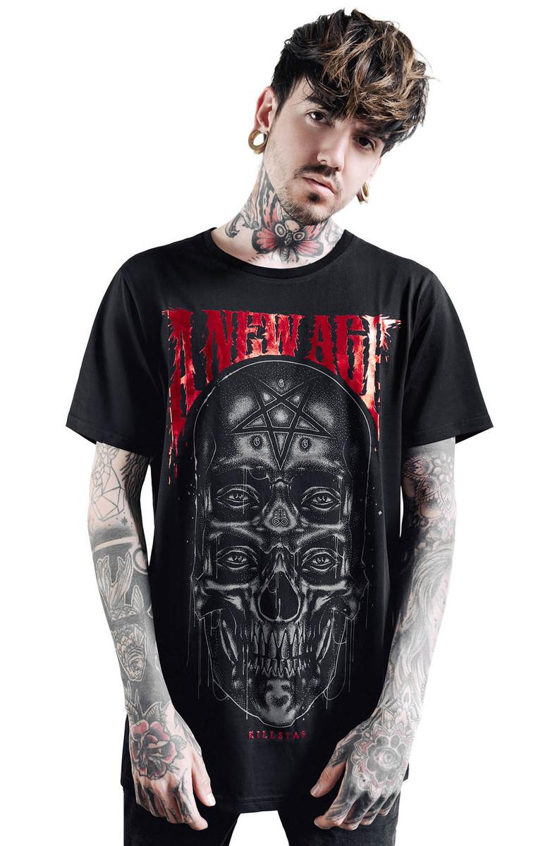 tričko pánske KILLSTAR - New Age - BLACK - KSRA001845