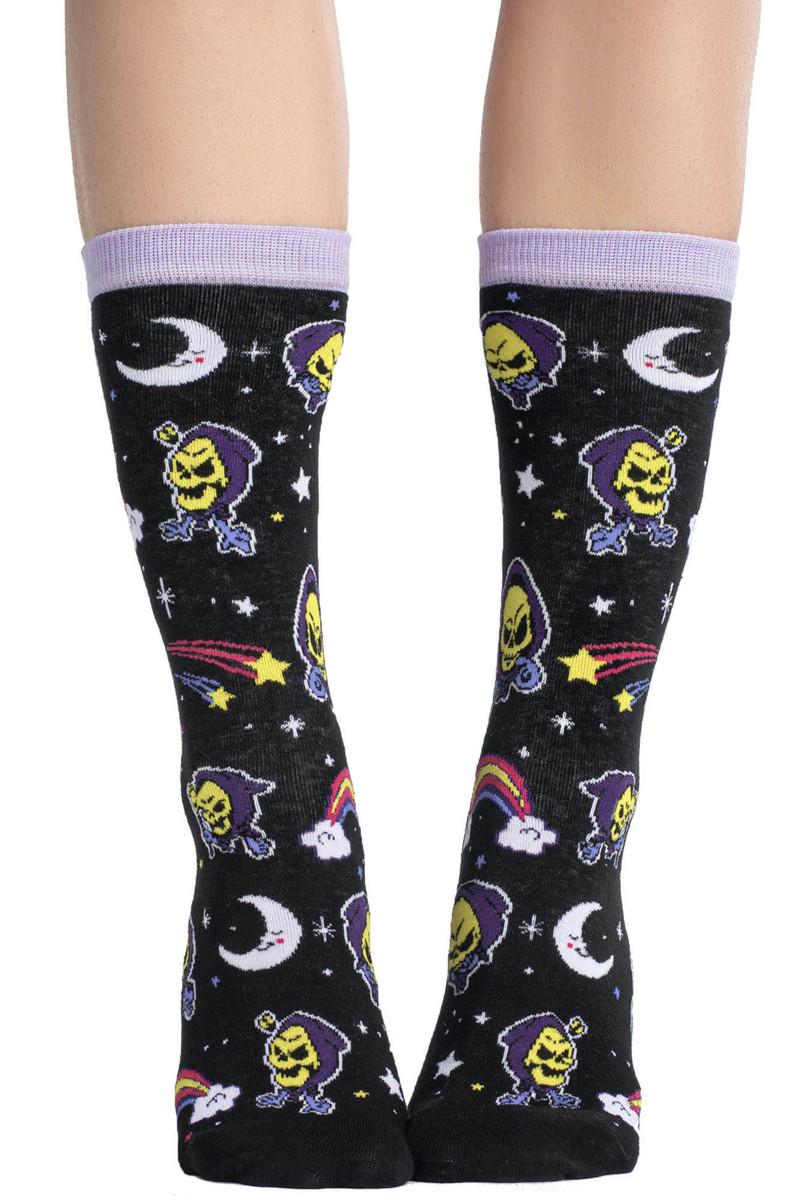 ponožky KILLSTAR - Not Cute - BLACK - KSRA002101