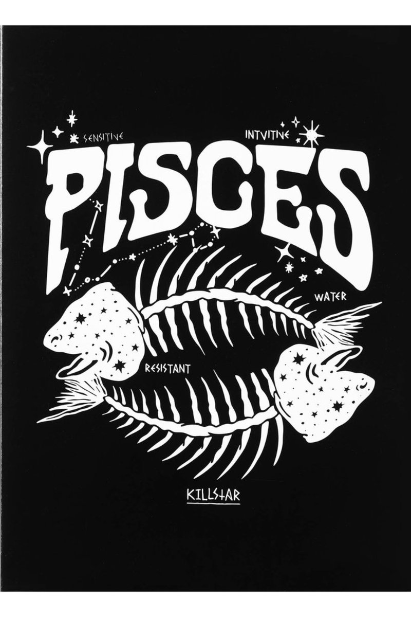 prianie KILLSTAR - Pisces - BLACK - KSRA000471