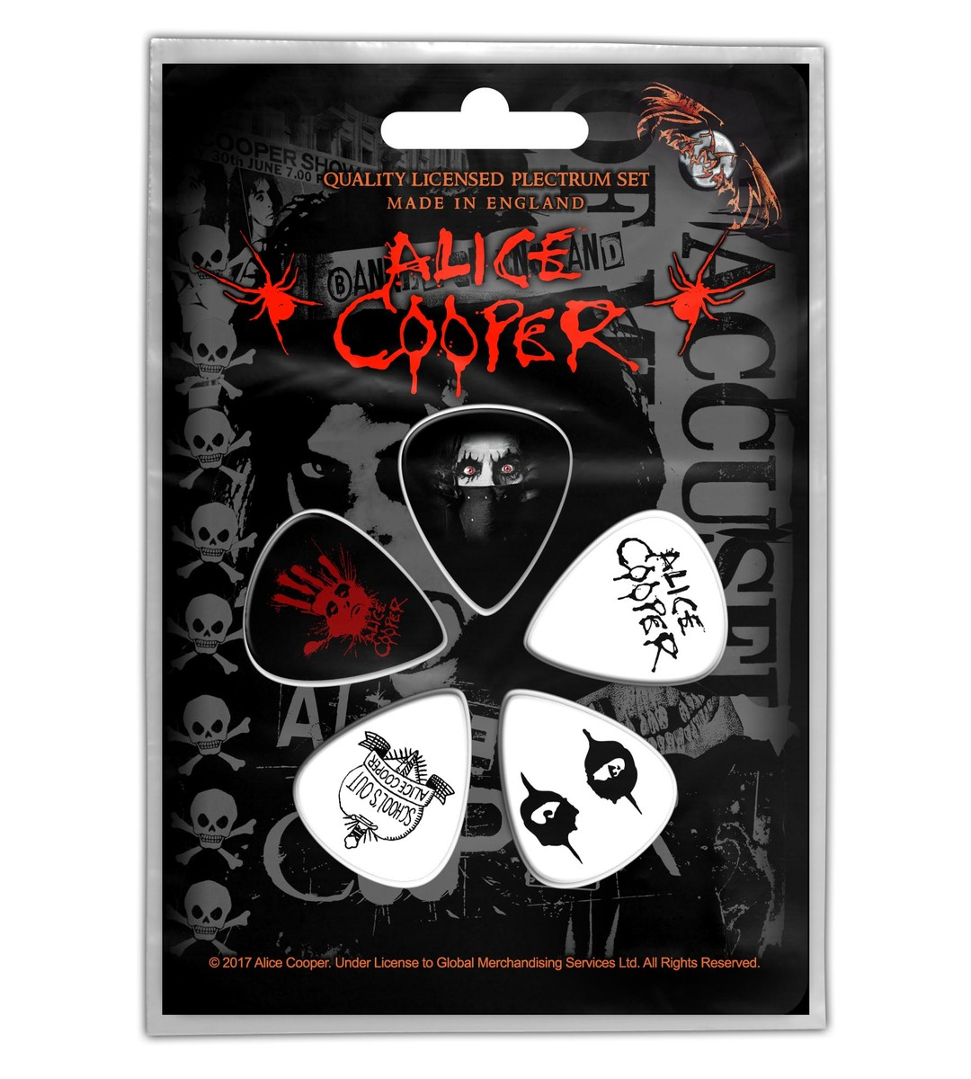 trsátka Alice Cooper - Eyes - RAZAMATAZ - PP013