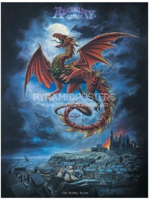 plagát - Alchemy (Whitby Wyrm) - PP0241 - Pyramid Posters